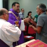 Confraternização com os candidatos ao diaconato permanente