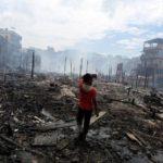 Incêndio destruiu 600 casas