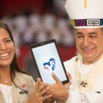 Ambar Calvo, jovem que elaborou o logotipo da JMJ do Panamá