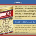 Lançamento: livro conta a história da diocese
