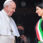 Papa visita o Capitólio