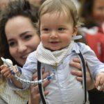 Mãe com o seu filho | Reproduação | Vatican Media