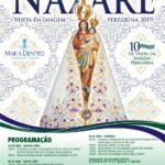 Nossa Senhora de Nazaré: visita da Imagem