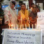 Fiéis paquistaneses homenageiam cristãos mortos nos atentados no Sri Lanka  (ANSA)