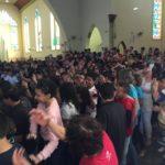 Pentecostes com crismandos: Região Beato Pe. Mariano