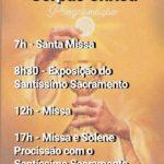 Corpus Christi – Basílica Menor de Nossa Senhora da Conceição Aparecida