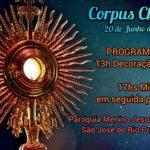 Corpus Christi – Paróquia Menino Jesus de Praga