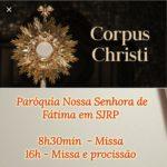 Corpus Christi – Paróquia Nossa Senhora de Fátima – SJRP