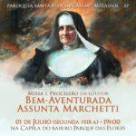 Dia da Beata Madre Assunta Marchetti