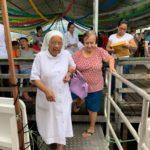 Barco Hospital: primeiros atendimentos