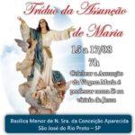 Basílica: Tríduo da Assunção de Maria