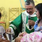O primeiro batizado do Diácono Zacarias