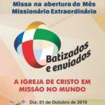 Missa na abertura do Mês Missionário Extraordinário