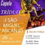 Tríduo: Capela São Miguel Arcanjo