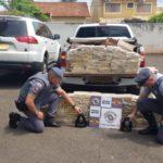 Foto por: Divulgação   Políca Policiais do TOR e do Baep fizeram a apreensão da droga