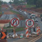 Trecho da rodovia em obras | Imagem: Johnny Torres - 08.10/2019
