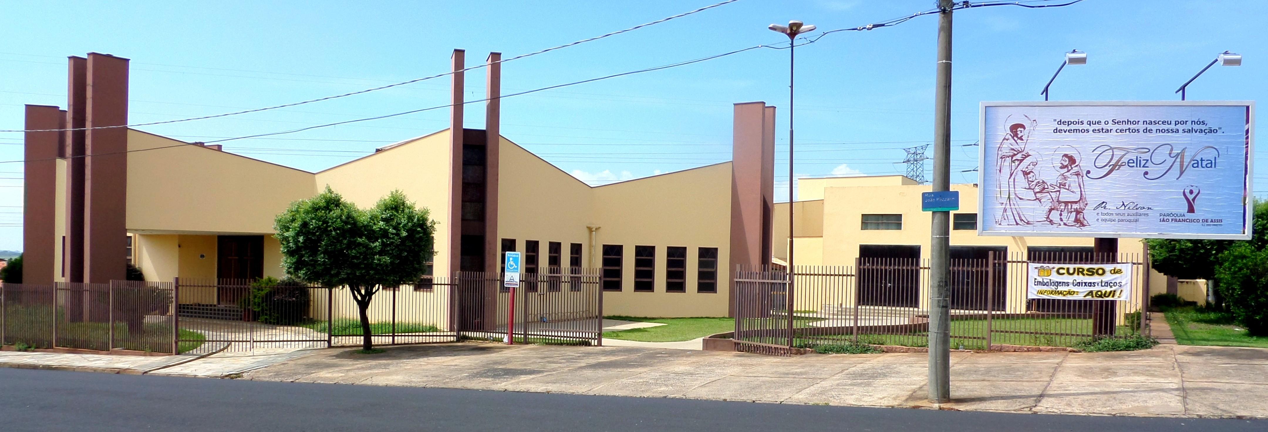 Paróquia de São Francisco de Assis/SJRP