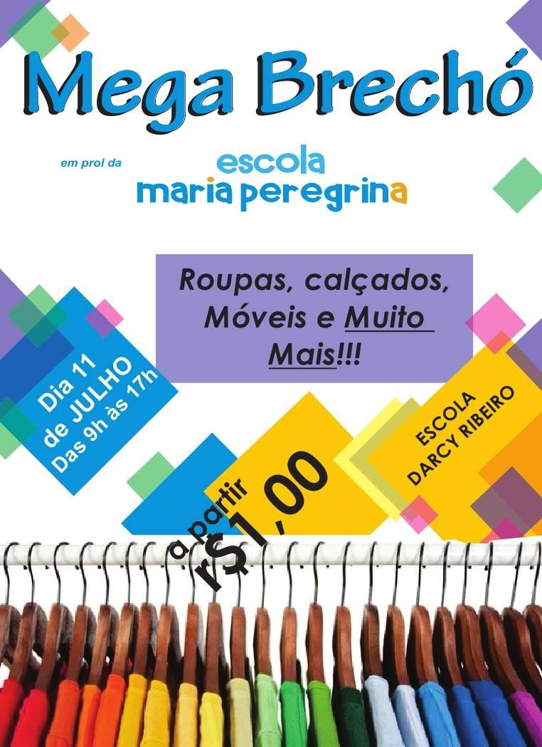 Escola Maria Peregrina promove Brechó Beneficente
