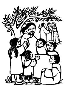 Jesus+with+children
