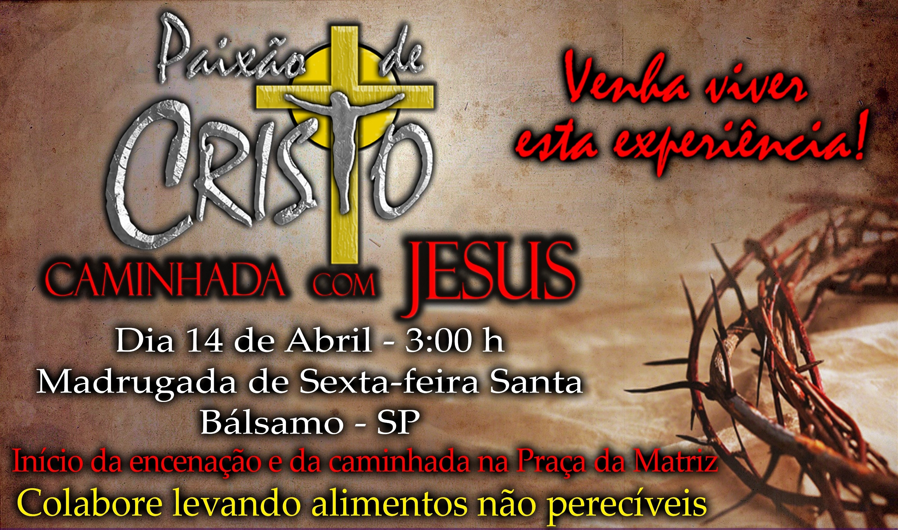 31ª Caminhada com Jesus