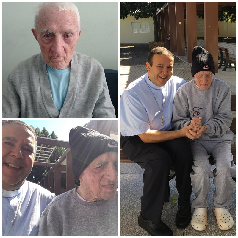 Padre José Riva completa 104 anos