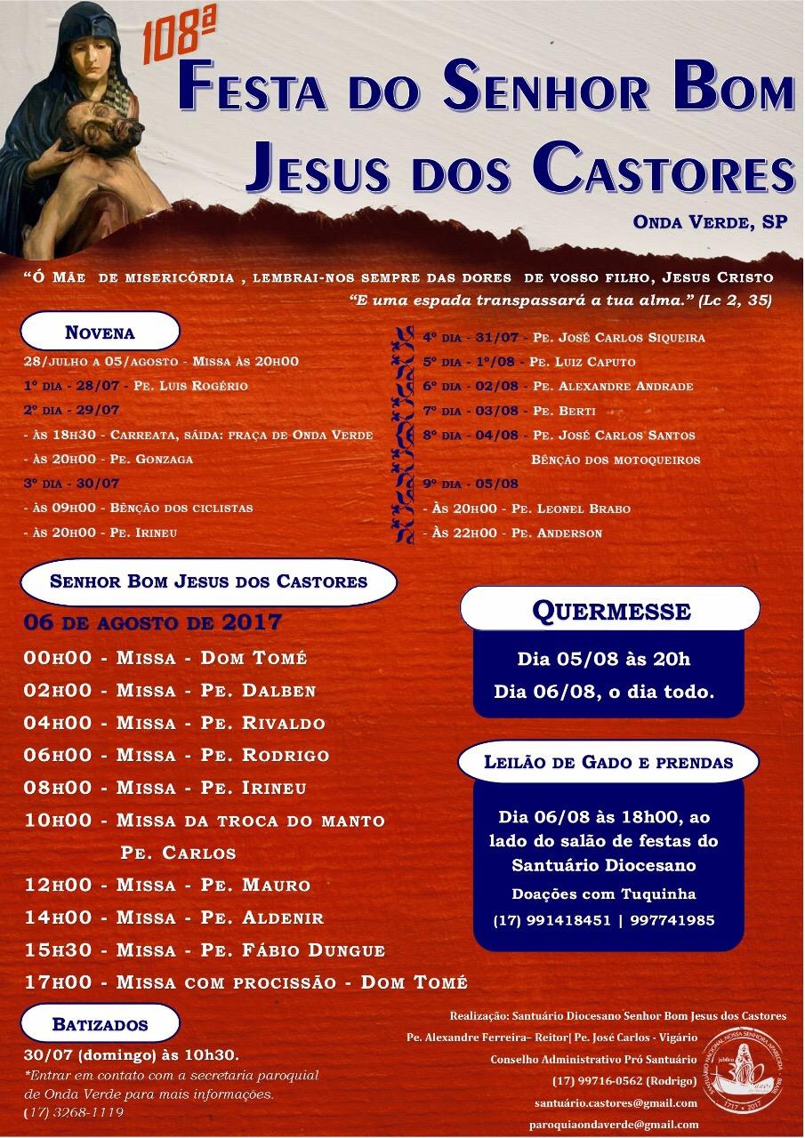 Festa do Senhor Bom Jesus dos Castores
