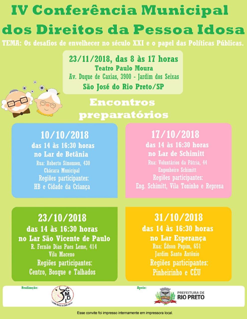 Conferência: Direitos da Pessoa Idosa