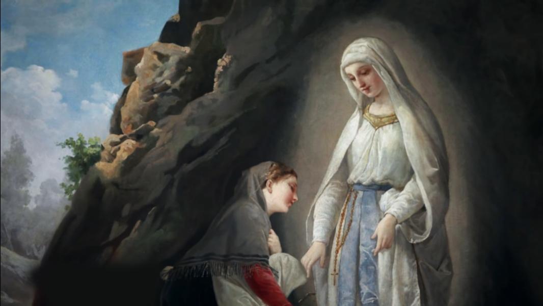 Hoje é celebrada Nossa Senhora de Lourdes