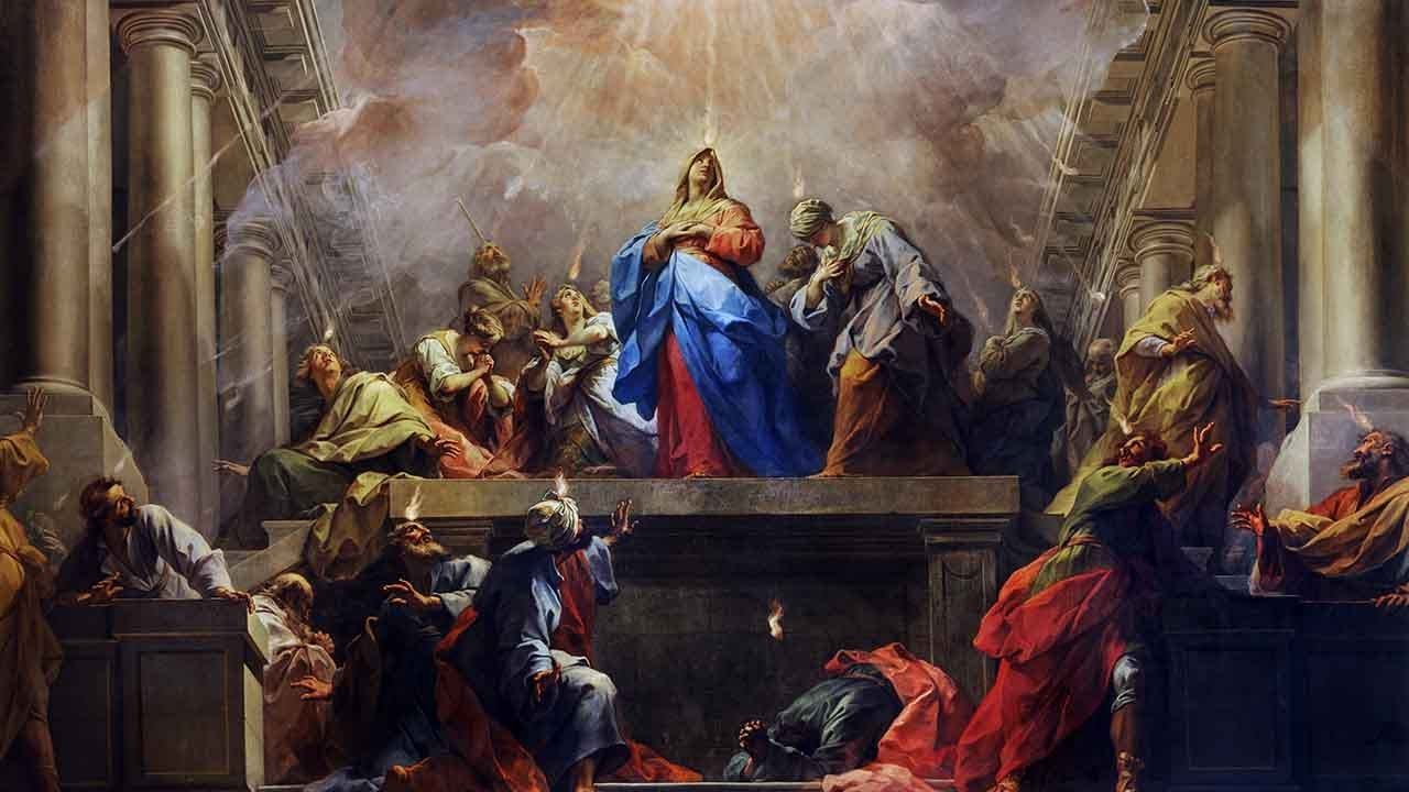 Programação da Novena de Pentecostes