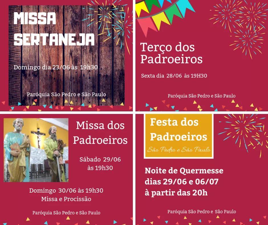 Festa dos Padroeirosda Paróquia São Pedro e São Paulo