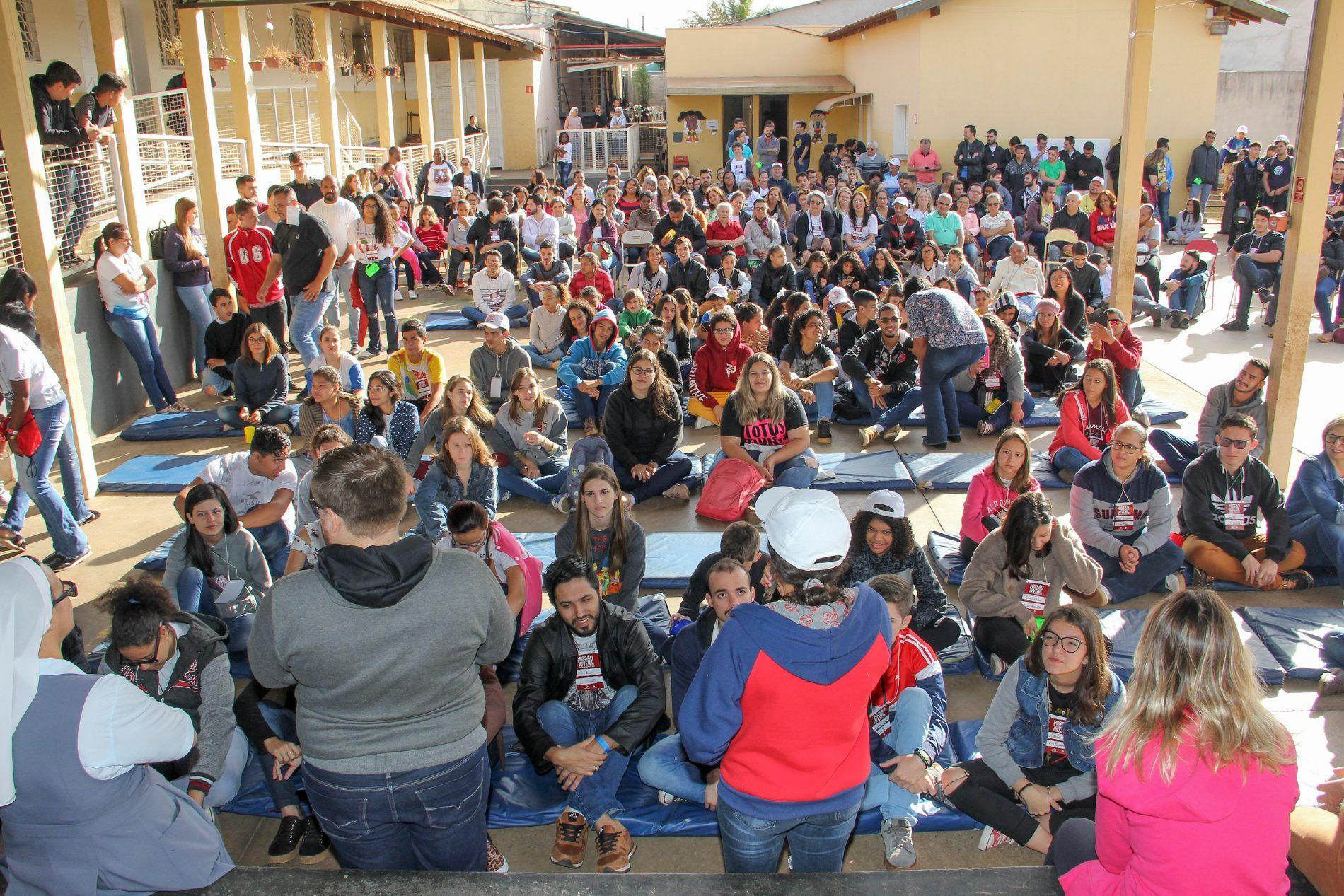 A paróquia São Vicente pós-missão juvenil