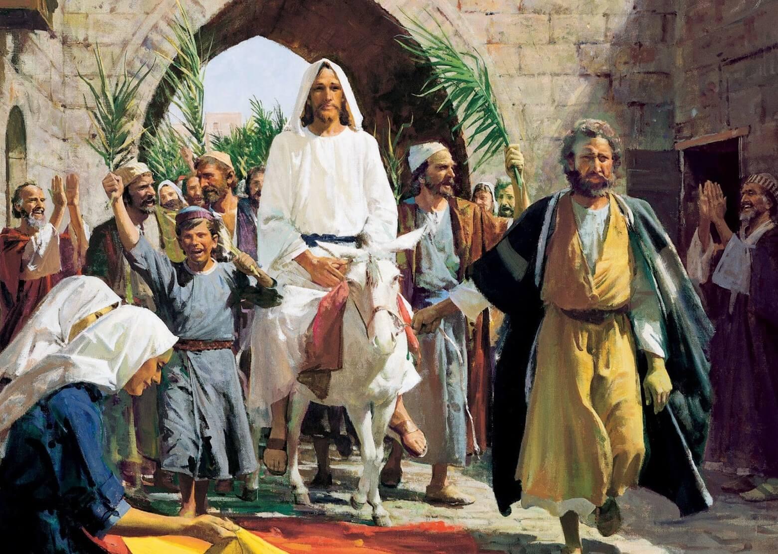 Roteiro celebrativo para o Domingo de Ramos e da Paixão do Senhor – 2020
