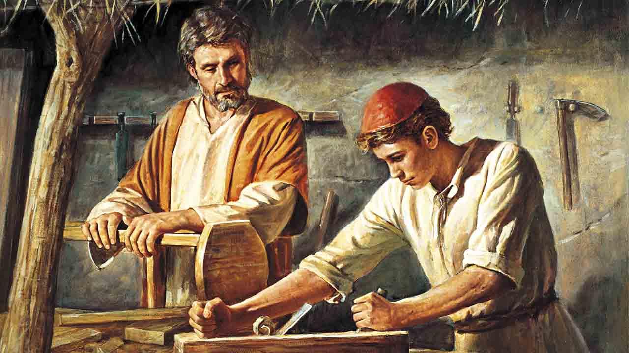 Oh glorioso São José, valei-nos!