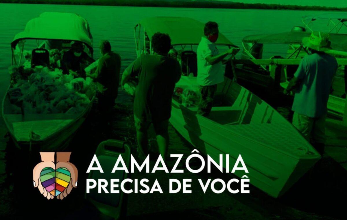 A Amazônia precisa de você