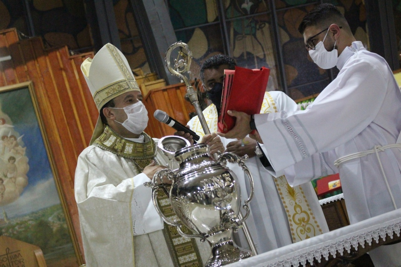 Missa dos Santos Óleos na Catedral