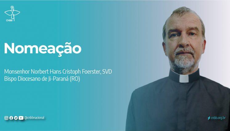 Novo bispo de Ji-Paraná, RO