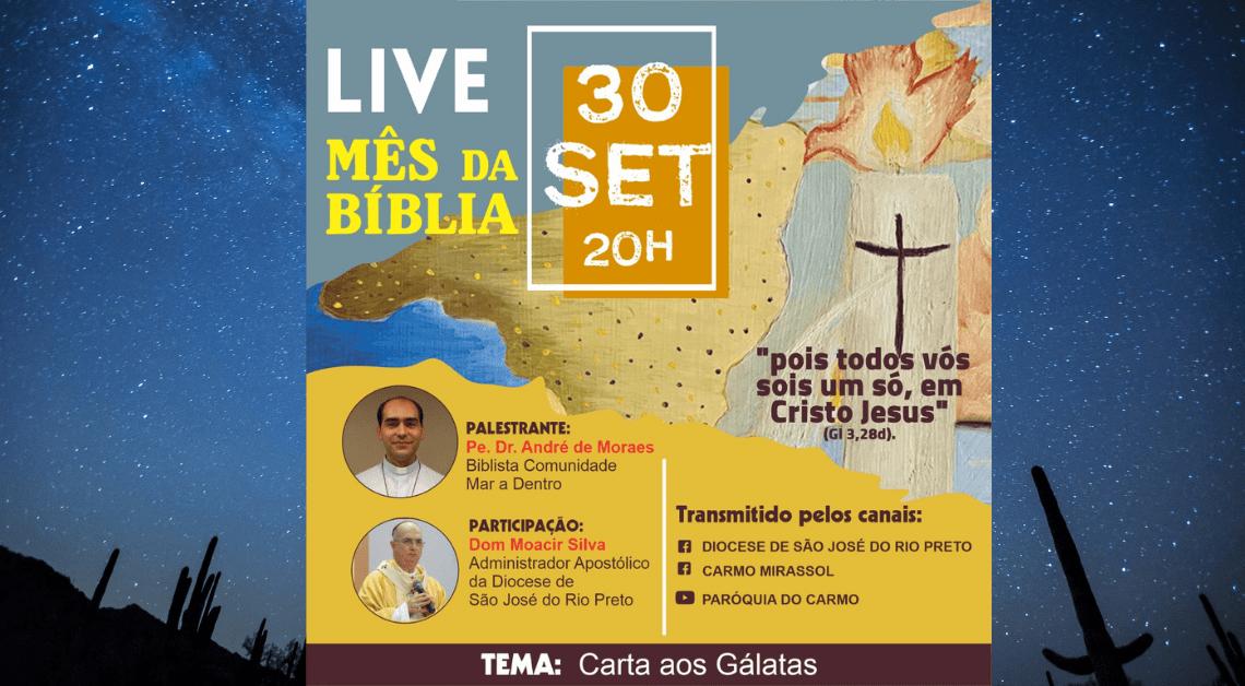 Live Mês da Bíblia | 30/09/2021