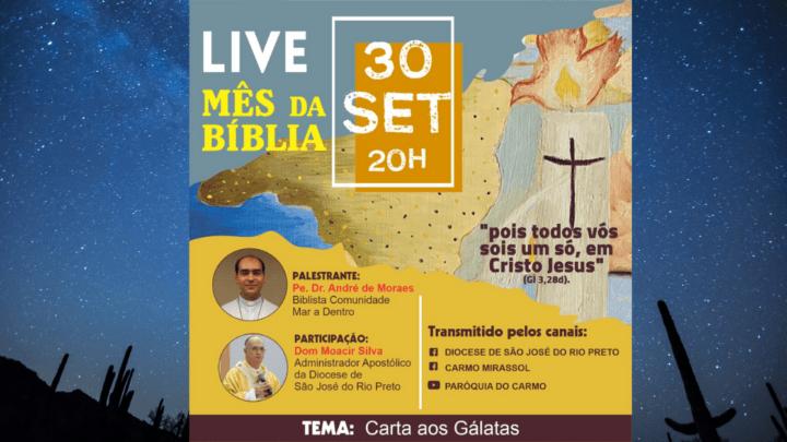 Live Mês da Bíblia 2021